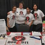 American Red Cross disaster fair, DogE911 educates on Animal Triage & Disaster Response.