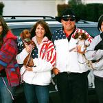 Working with the America's Dog Whisperer team while they were in CA. (2009)