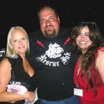 Meeting Big Ant of Rescue Ink after assisting with an underground railroad rescue event for animals in GA. (2009)