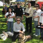 Atascadero Police K9 Units & Fire Dept, with the assistance of Mayor O'Mally, appreciate Doge911's support.