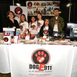 DogE911 Jr Vets host a booth on Animal Response at a disaster fair.